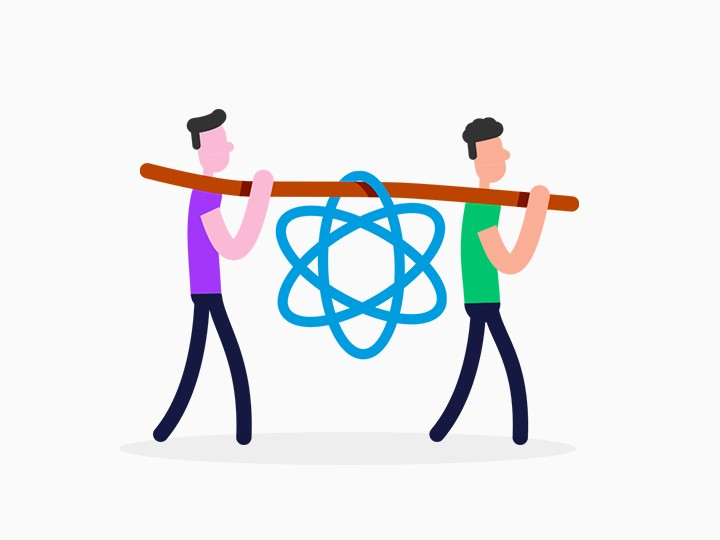 react illustration