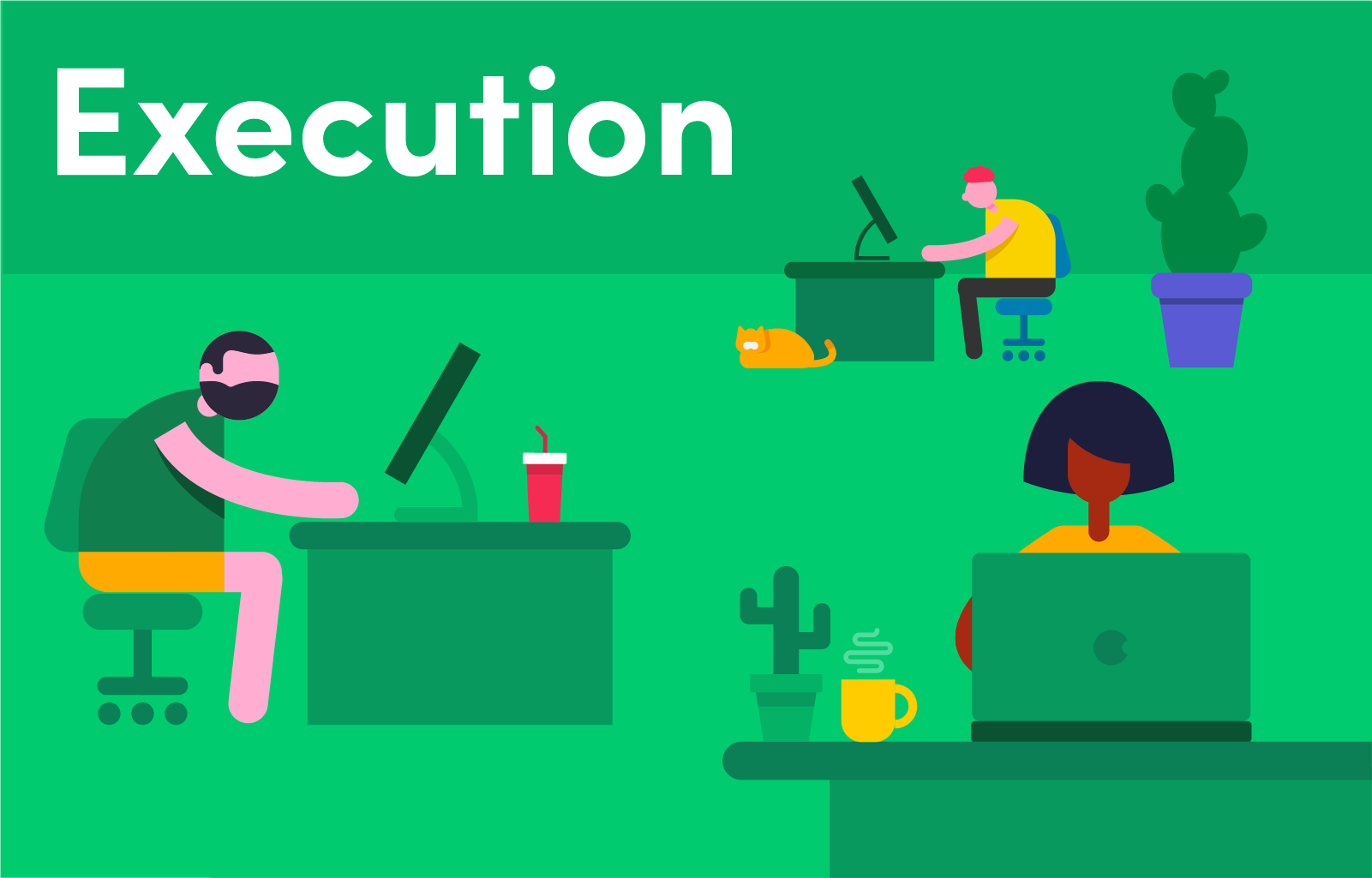 Execution: The third step in a project lifecycle